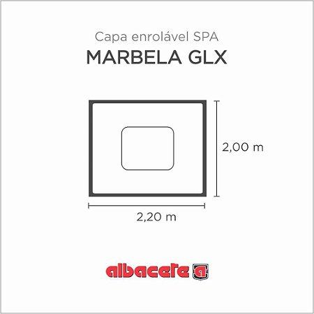 CapaSPA para banheira SPA Marbela GLX Albacete