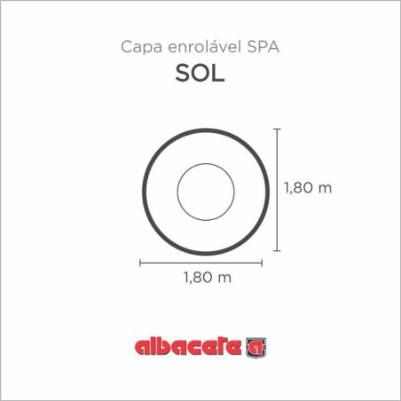 CapaSPA para banheira SPA Sol Albacete