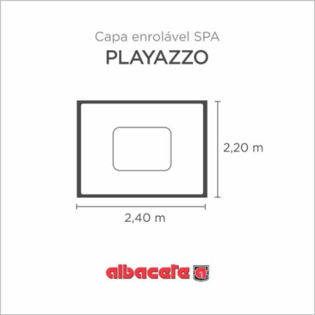 CapaSPA para banheira SPA Playazo Albacete