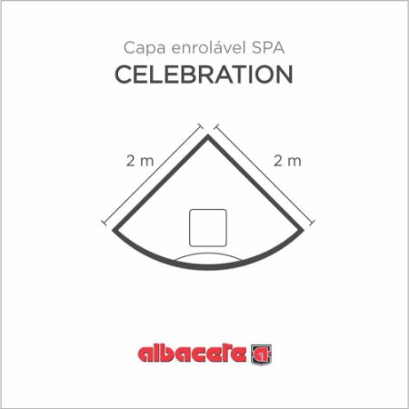 CapaSPA para banheira SPA Celebration Albacete