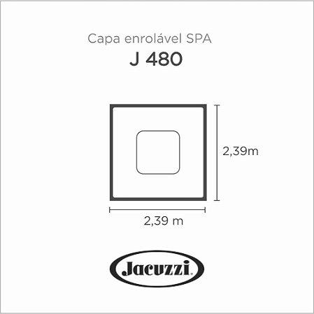 Capa Spa Enrolável Spa J 480 Jacuzzi