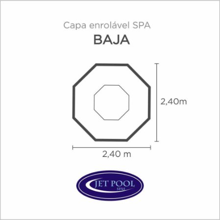 Capa Spa Enrolável Spa Baja Jet Pool