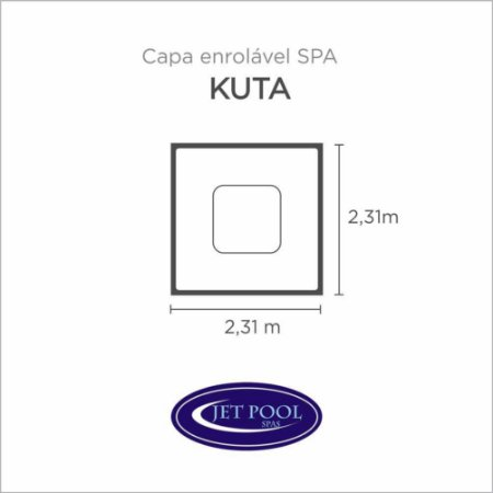 Capa Spa Enrolável Spa Kuta Jet Pool