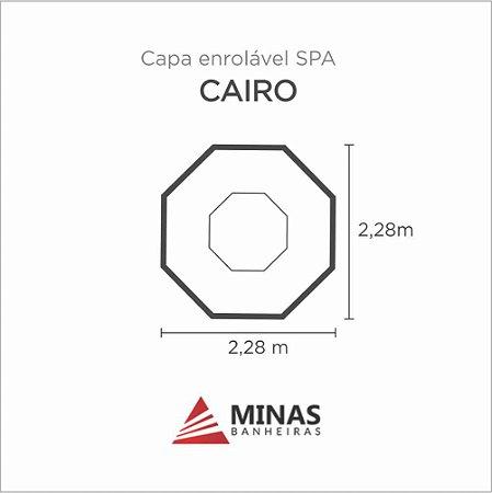 Capa Spa Enrolável Spa Cairo Minas Banheiras