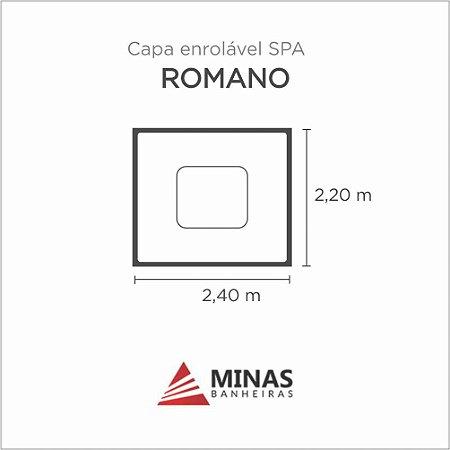Capa Spa Enrolável Spa Romano Minas Banheiras