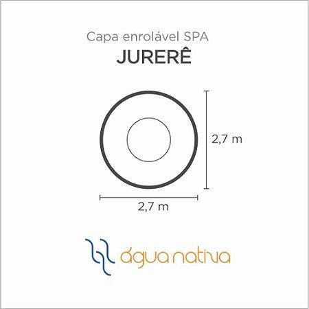 Capa Spa Enrolável Spa Jurere Agua Nativa