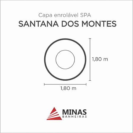 Capa Spa Enrolável Spa Santana Dos Montes Minas Banheiras