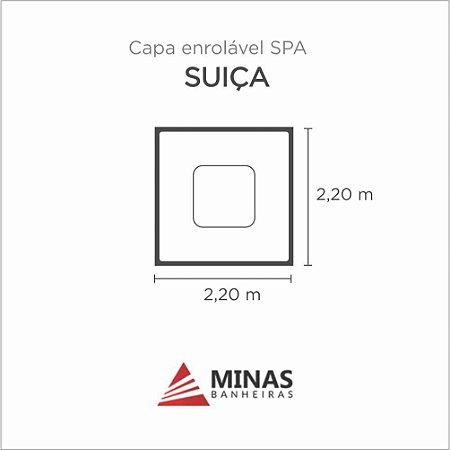 Capa Spa Enrolável Spa Suica Minas Banheiras