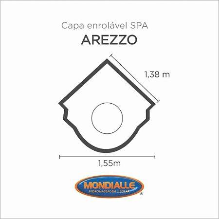 Capa Spa Enrolável Banheira Arezzo Mondialle
