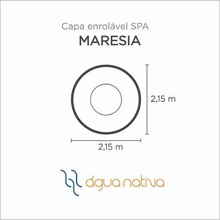 Capa Spa Enrolável Spa Maresia Agua Nativa