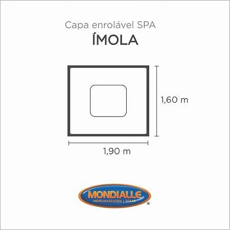 Capa Spa Enrolável Banheira Imola Mondialle