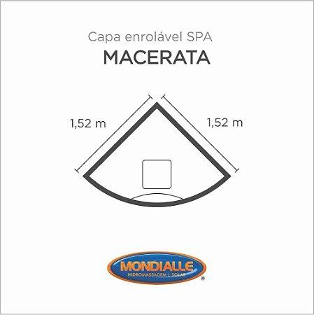 Capa Spa Enrolável Banheira Macerata Mondialle