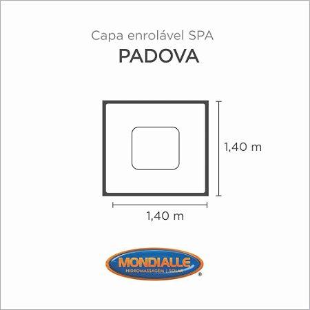 Capa Spa Enrolável Banheira Padova Mondialle