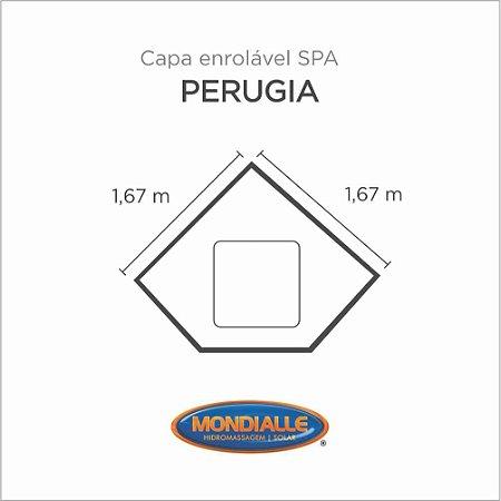 Capa Spa Enrolável Banheira Perugia Mondialle