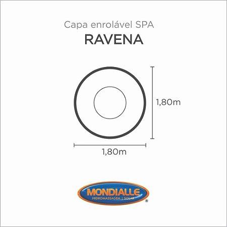 Capa Spa Enrolável Banheira Ravena Mondialle
