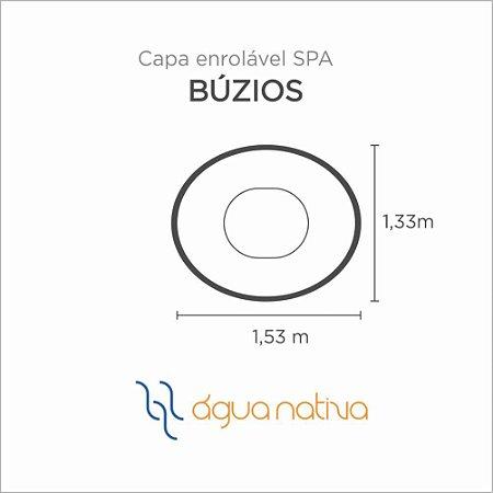 Capa Spa Enrolável Mini Spa Buzios Agua Nativa