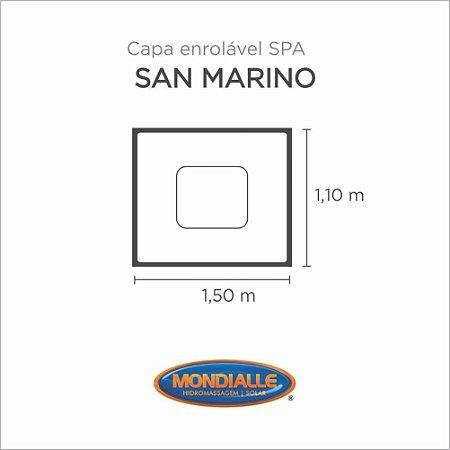Capa Spa Enrolável Banheira San Marino Mondialle