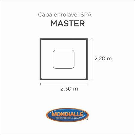 Capa Spa Enrolável Spa Master 2.3 Mondialle