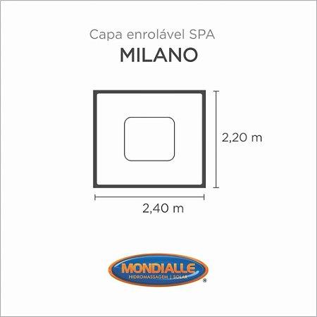 Capa Spa Enrolável Spa Milano Mondialle