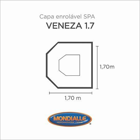 Capa Spa Enrolável Spa Veneza 1.7 Mondialle