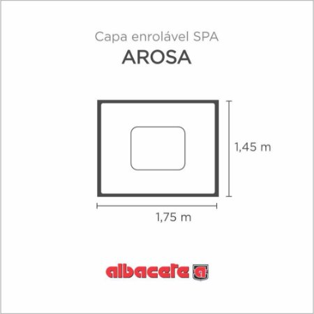 Capa Spa Enrolável Banheira Arosa Albacete