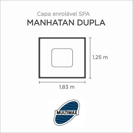 Capa Spa Enrolável Banheira Manhatan Dupla Multimax