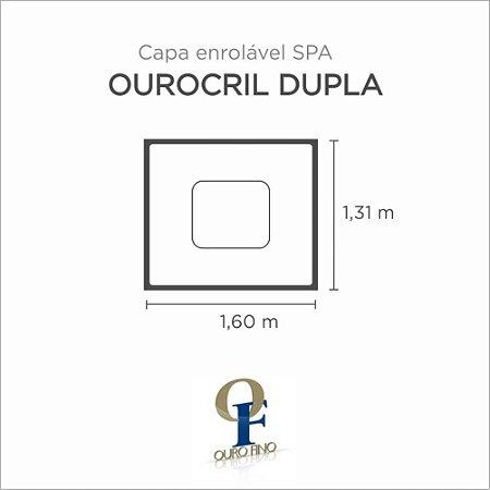 Capa Spa Enrolável Banheira Ourocril Dupla Ouro Fino