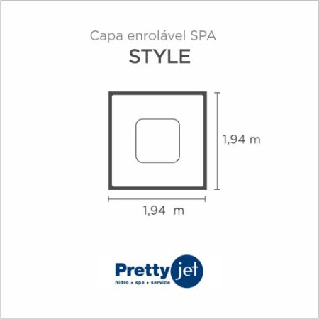 Capa Spa Enrolável Spa Style Pretty Jet
