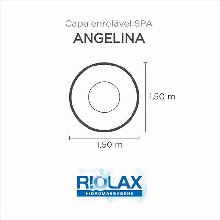 Capa Spa Enrolável Banheira Angelina Riolax