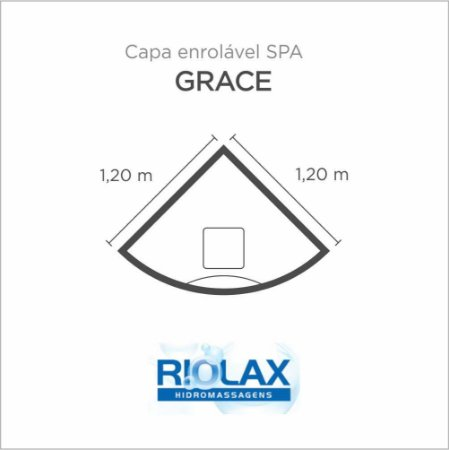 Capa Spa Enrolável Banheira Grace Riolax