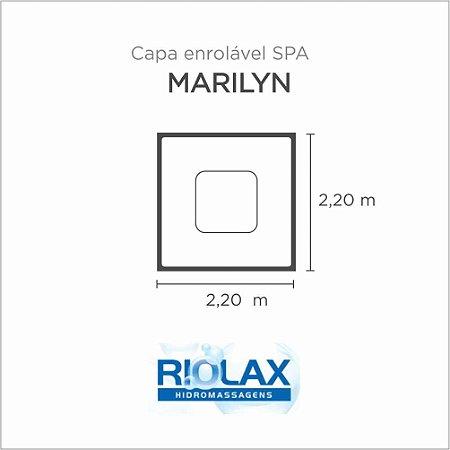 Capa Spa Enrolável Banheira Marilyn Riolax