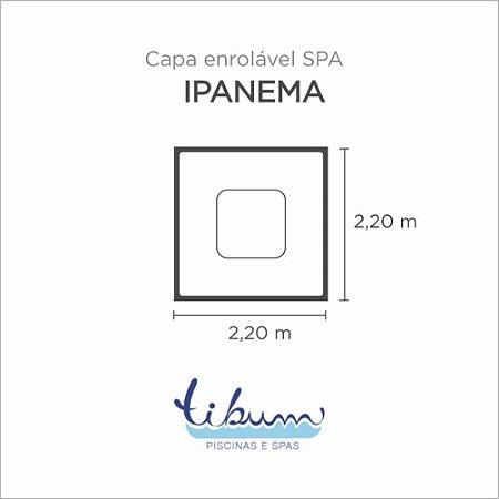 Capa Spa Enrolável Spa Ipanema Básico Tibum