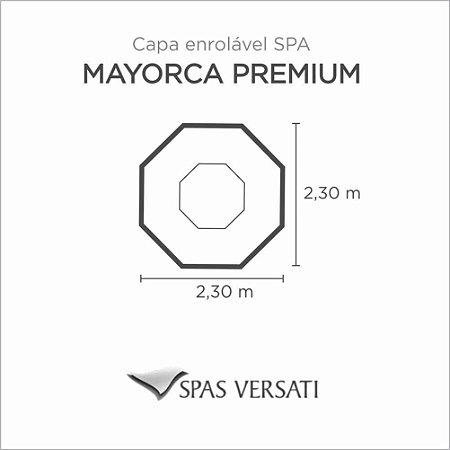 Capa Spa Enrolável Hidro Spa Mayorca Premium Versati