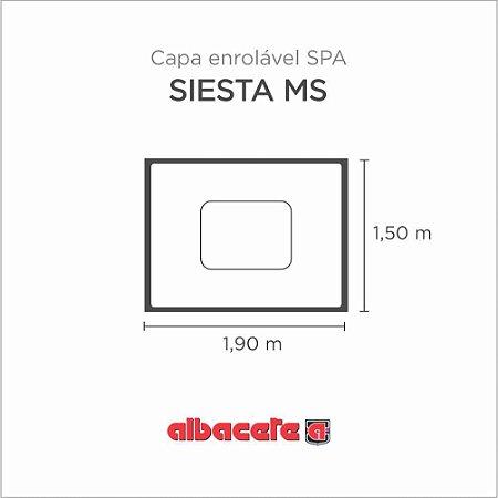 Capa Spa Enrolável Banheira Siesta Ms Albacete
