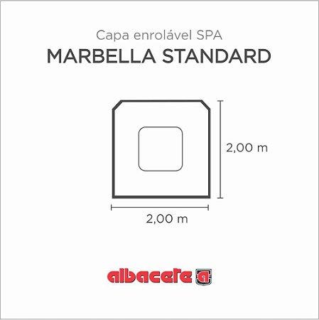 Capa Spa Enrolável Spa Marbella Standard Albacete