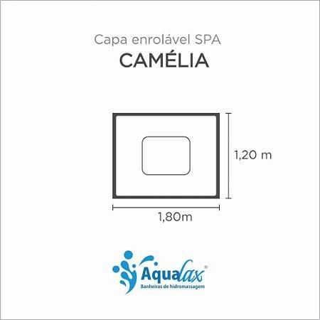 Capa Spa Enrolável Banheira Caméilia Aqualax