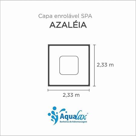 Capa Spa Enrolável Spa Azaléia Aqualax