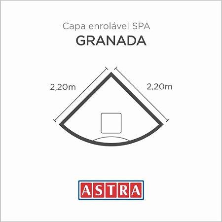Capa Spa Enrolável Spa Granada - Acp34/Ap34 Astra