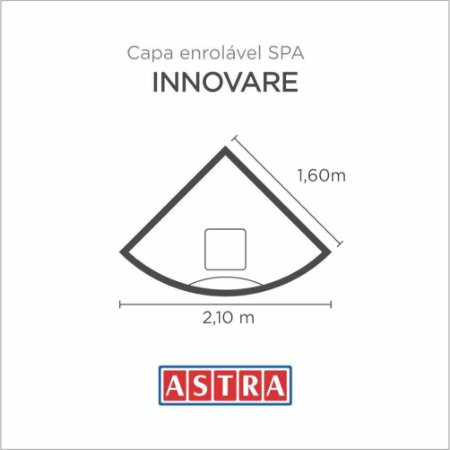 Capa Spa Enrolável Banheira Innovare - H19 / Ha19 Astra