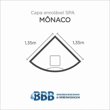 Capa Spa Enrolável Banheira Monaco Bom Banho