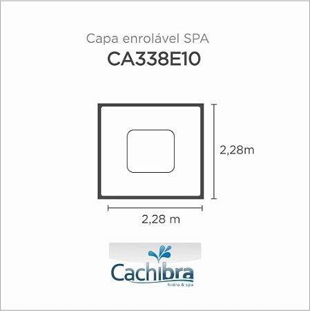 Capa Spa Enrolável Spa Modelo Ca338E10 Sem Tv E Com Tv/Dvd Cachibra