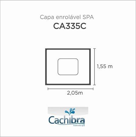 Capa Spa Enrolável Spa Modelo Ca335C Cachibra
