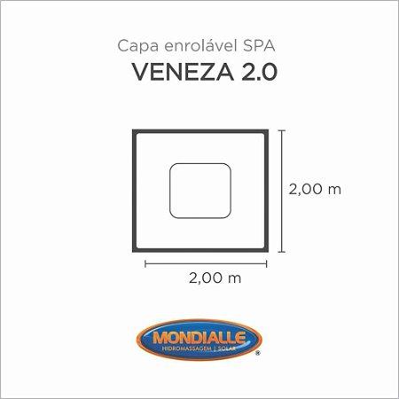 Capa Spa Enrolável Spa Veneza 2.0 Mondialle
