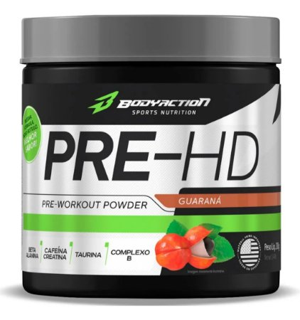 Pre-HD Pre-Workout Body Action - 200g