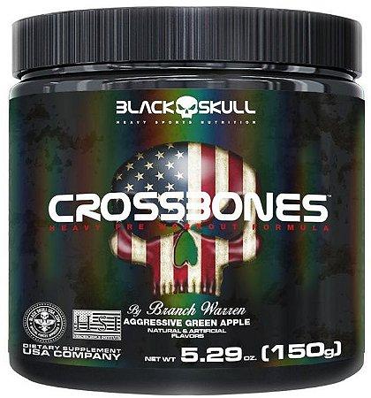Crossbones Black Skull - 150g