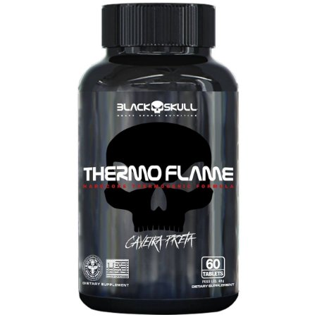 Termogenic Thermo Flame Black Skull - 60 tabletes