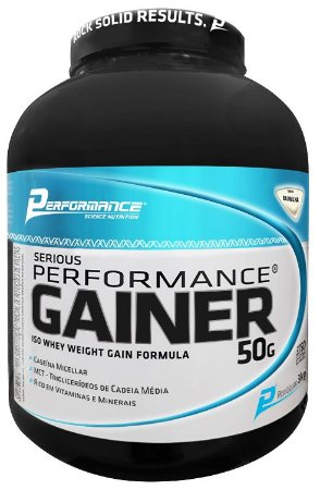 Hipercalórico Serious Gainer 3kg Performance Nutrition