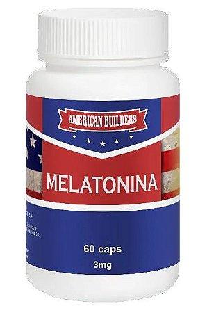 Melatonina 3mg American Builders 60 caps