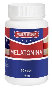 Melatonina 10mg American Builders 60 caps
