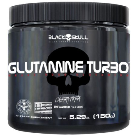 Glutamina Turbo Black Skull 150g